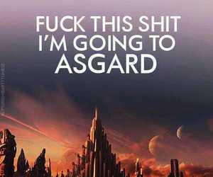 asgard, thor, and loki image