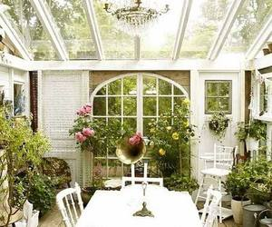 garden, home, and flowers image