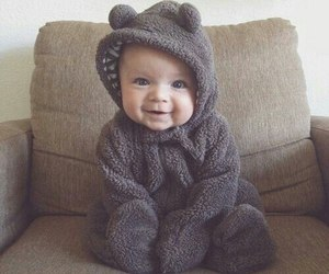 baby, cute, and bear image
