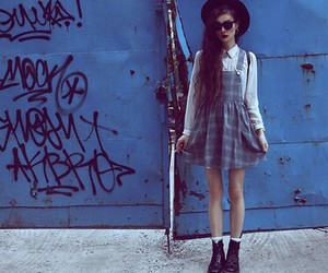 grunge, fashion, and dress image