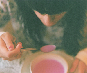 grainy, indie, and pink image