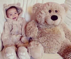 baby and bear image