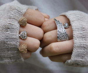 fashion, rings, and ring image