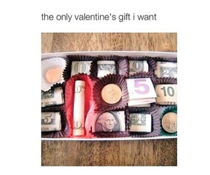funny, money, and gift image