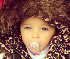 baby, beautiful, and eyes image