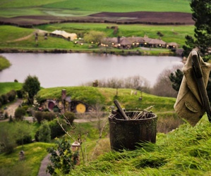 the hobbit, the shire, and green image