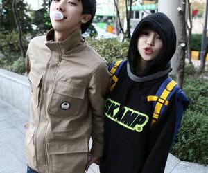 ulzzang, shin ho seok, and seo ji hye image