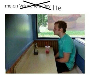 day, foreveralone, and fuck image