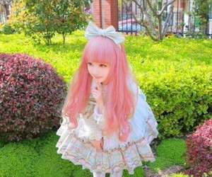 fashion, lolita, and girl image