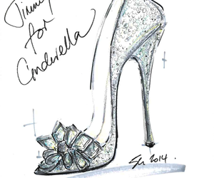 cinderella, shoes, and disney image