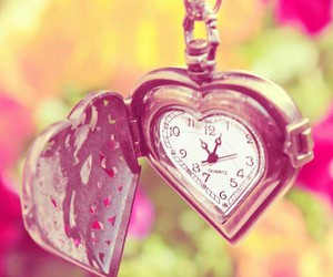 clock, love, and heurt image
