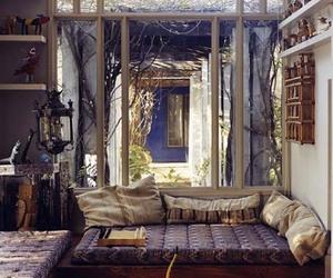 room, boho, and home image
