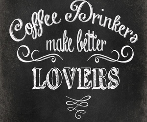 coffee, lovers, and drink image