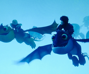 <3, astrid, and how to train your dragon image
