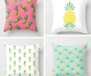 pineapple, pillows, and cushion image