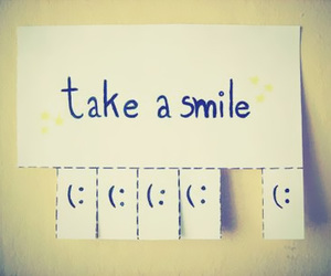 happiness, smile, and take a smile image