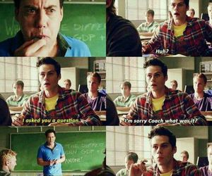 teen wolf, coach, and stiles image