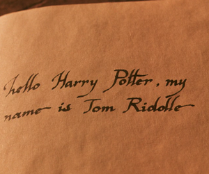 harry potter, tom riddle, and diary image