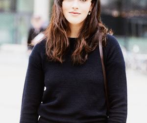 actress, bangs, and celebrities image