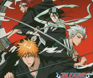 anime, bleach, and sword image