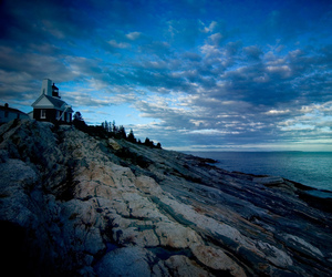 lighthouse, Maine, and photography image