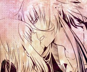 anime, kamigami no asobi, and kiss image