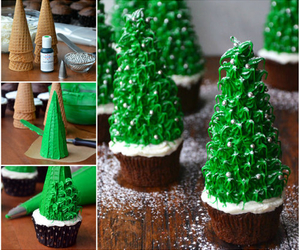 diy, christmas, and cupcake image