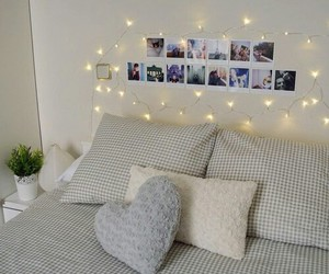 bed, cosy, and style image