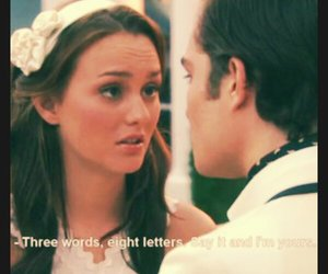 chuck and blair and love image
