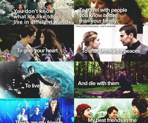 harry potter, twilight, and divergent image