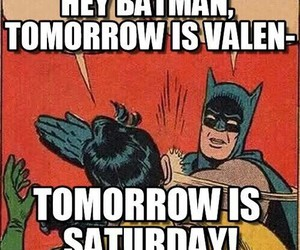 batman, funny, and saturday image