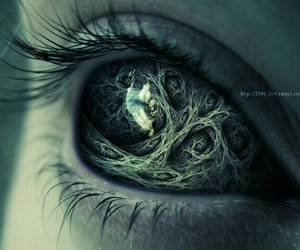 eye, fantasy, and eyes image