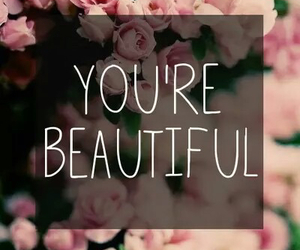 beautiful, flowers, and quotes image