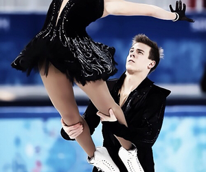 ice skating and black swan image