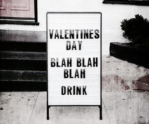 love, drink, and valentine image