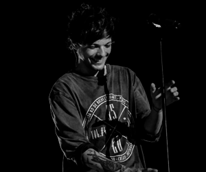 louis tomlinson, one direction, and smile image