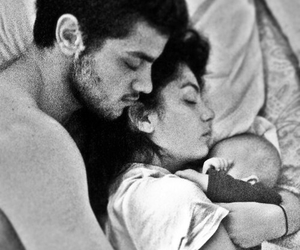 couple, love, and baby image