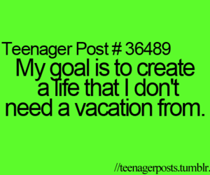 goals, teenager, and life image