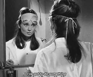 audrey hepburn, Breakfast at Tiffany's, and quotes image