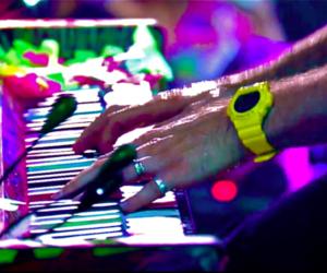 Chris Martin and music image