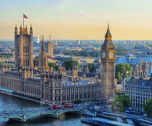london, beautiful, and Londres image