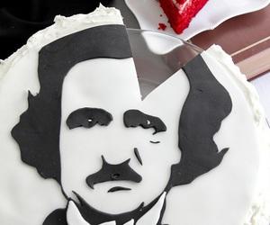 cake and edgar allan poe image