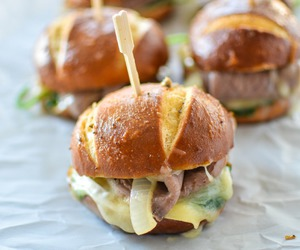 burgers, delicious, and food image