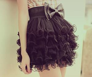 fashion, skirt, and black image