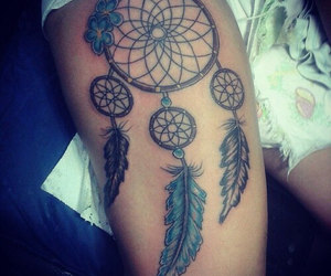dream catcher, Tattoos, and love it image