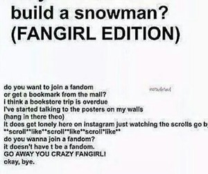fangirl and book image