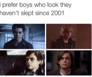 boy, evan peters, and american horror story image