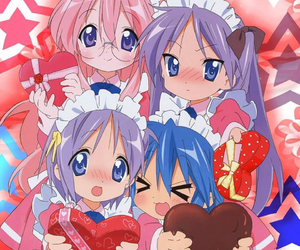 lucky star and maid image