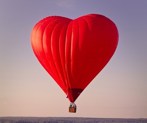 heart, red, and balloon image