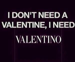 Valentino, fashion, and love image